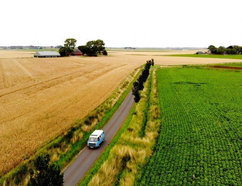 Roadtrip Nederland per vintage camperbus
